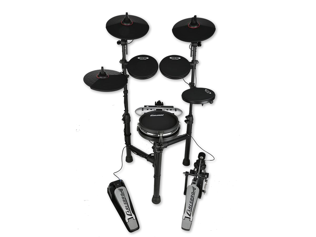 Carlsbro CSD130M mesh snare electronic drum set front alpha 7