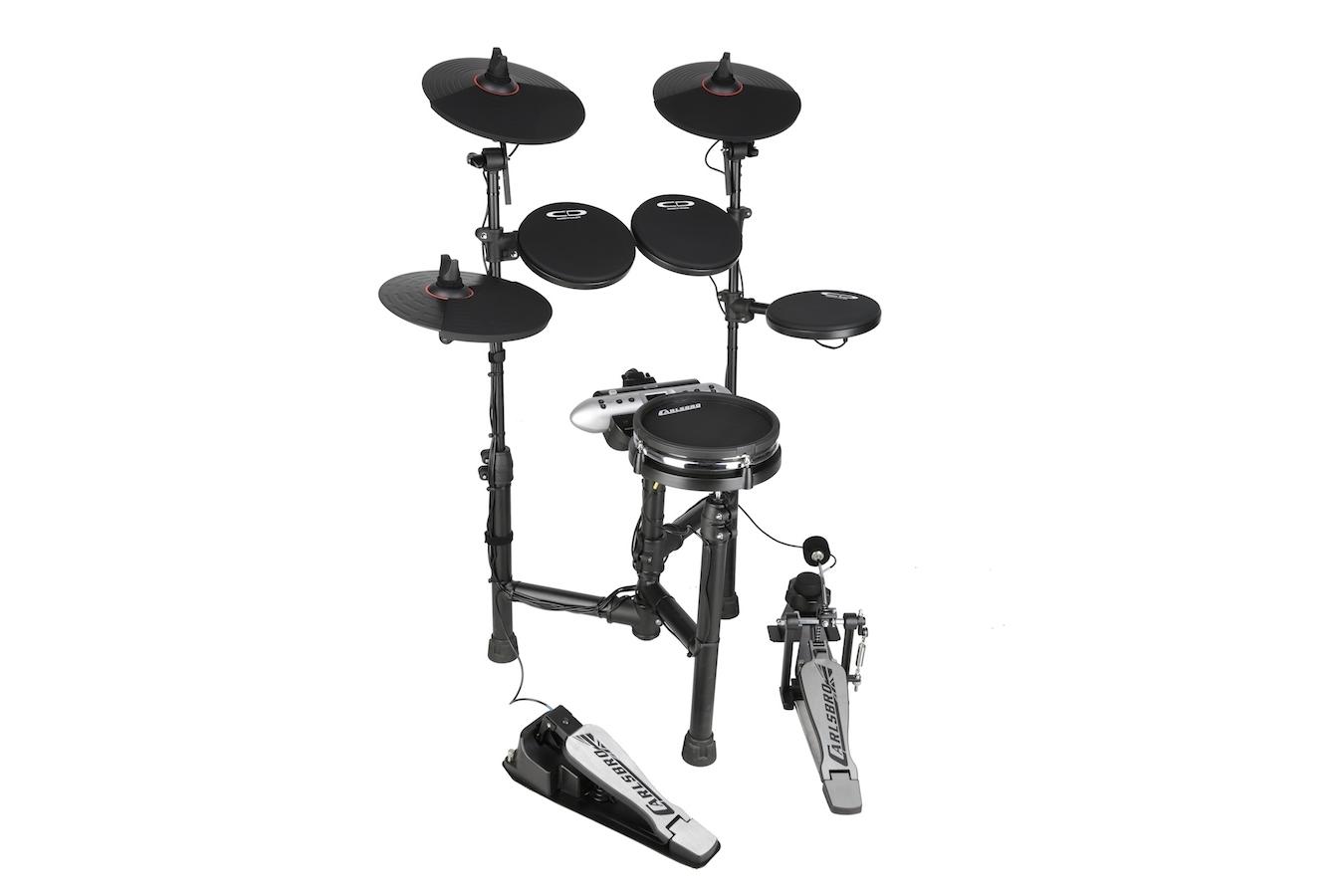 Carlsbro CSD130M mesh snare electronic drum set left side