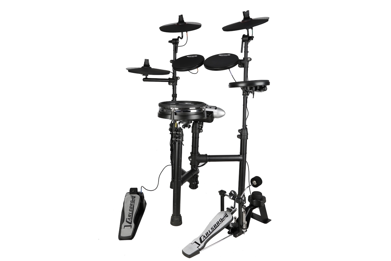 Carlsbro CSD130M mesh snare electronic drum set right side