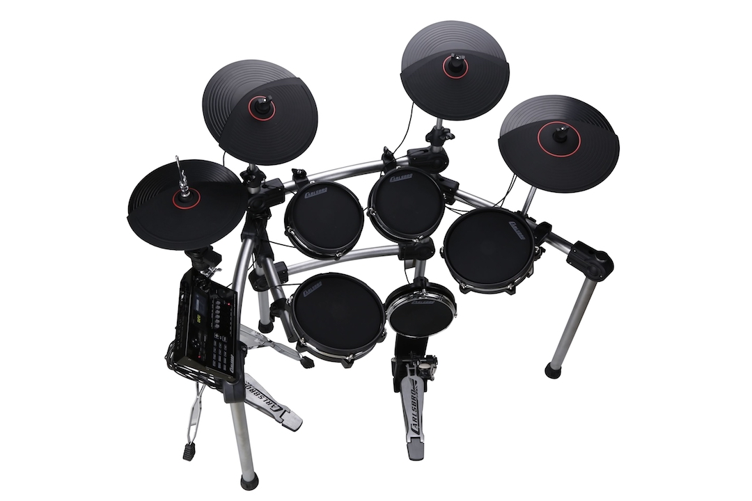 Carlsbro CSD600 electronic drumkit drum set left side view