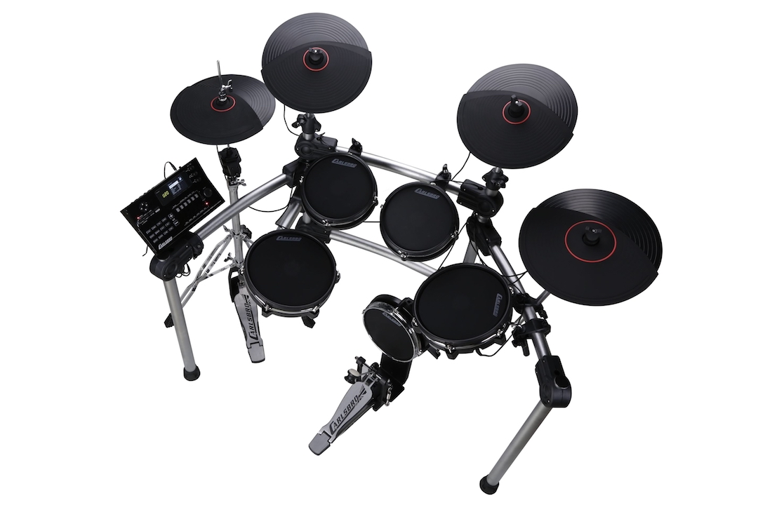 Carlsbro CSD600 electronic drumkit drum set right side view