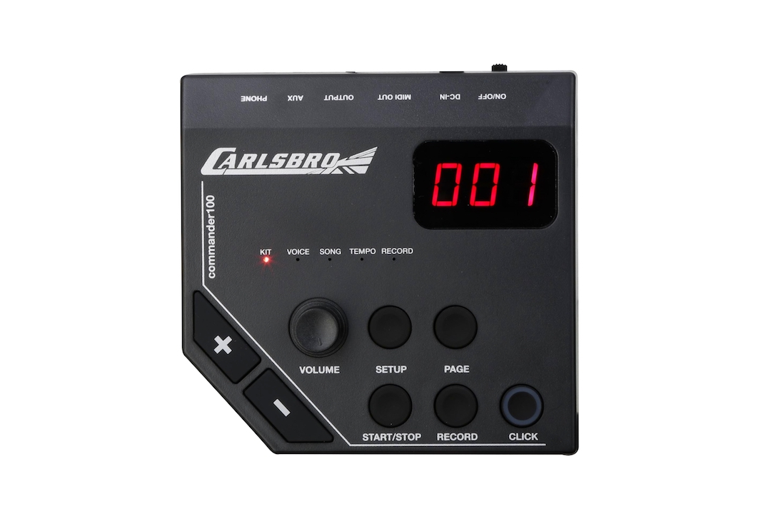 Carlsbro CSD100 electronic drumkit drum set brain sound module