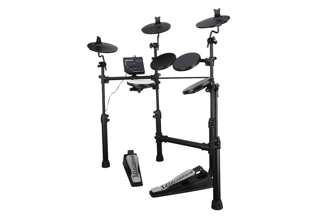 Carlsbro CSD100 electronic drumkit drum set right view