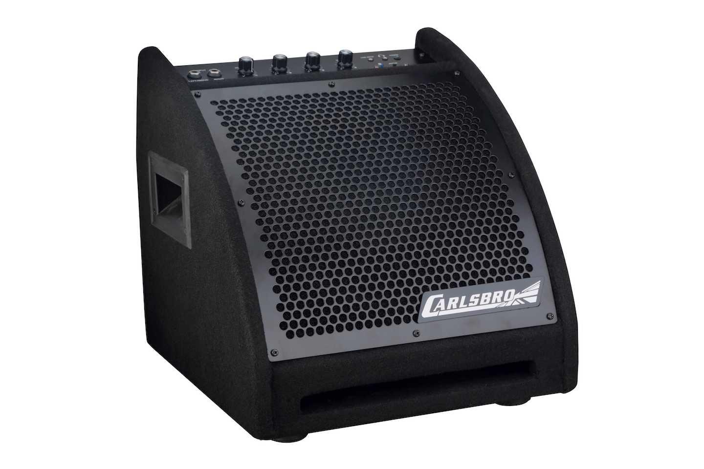 Carlsbro EDA30B Drum amp active monitor left angle