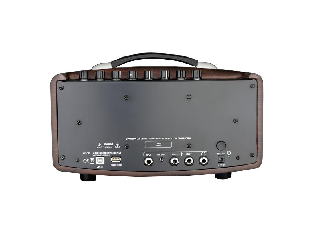 Carlsbro Stingray guitar amplifier D5 back