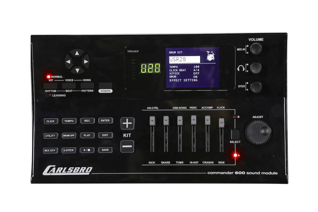 Carlsbro CSD600 electronic drumkit drum set brain sound module