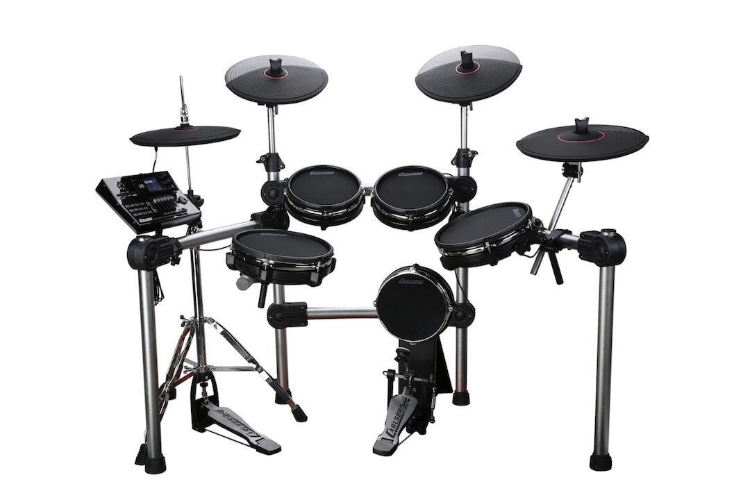 Carlsbro CSD600 electronic drumkit drum set front view