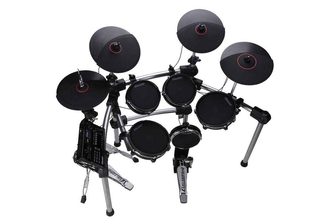 Carlsbro CSD600 electronic drumkit drum set left side view
