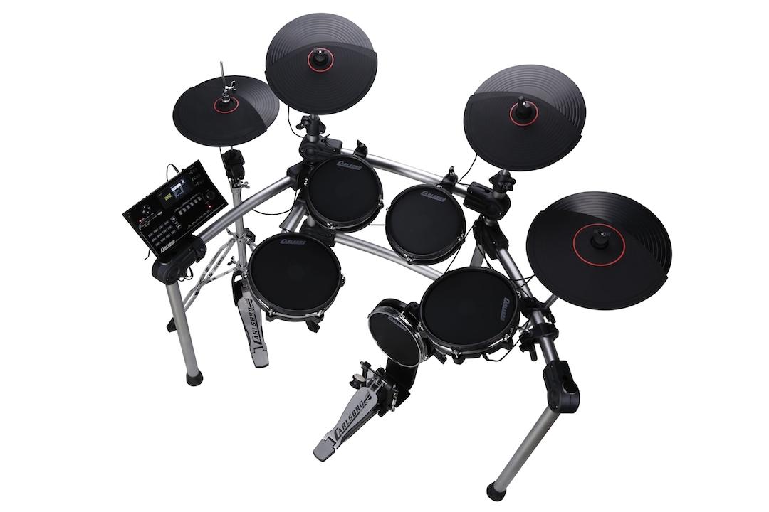 Carlsbro CSD600 electronic drumkit drum set right side view
