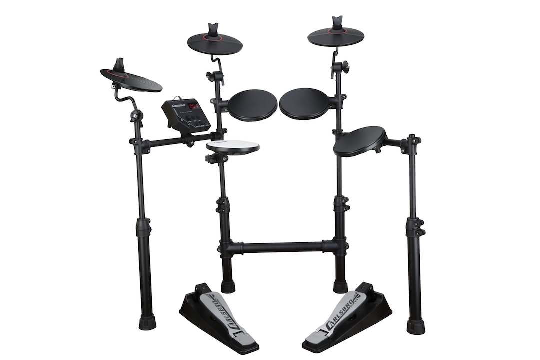 Carlsbro CSD100 electronic drumkit drum set front view