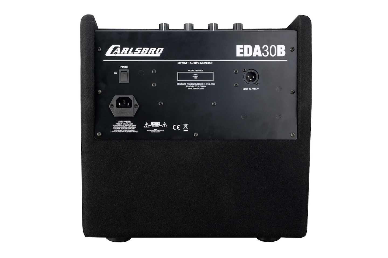 Carlsbro EDA30B Drum amp active monitor rear